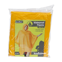 Summit - Poncho waterproof Yellow