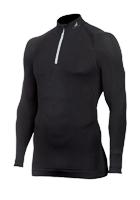 Tecso - Turtleneck Sweater Man Zip Black