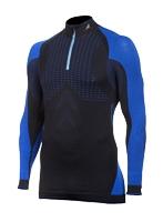Tecso - Turtleneck Sweater Man Zip Royal