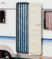 Arisol - Curtain Chenille Blue Gray 90 x 220