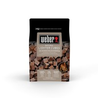 Weber - Cubes Fire Light Brown 48 pcs.